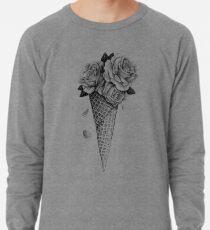 Eiscreme Rosen Leichtes Sweatshirt