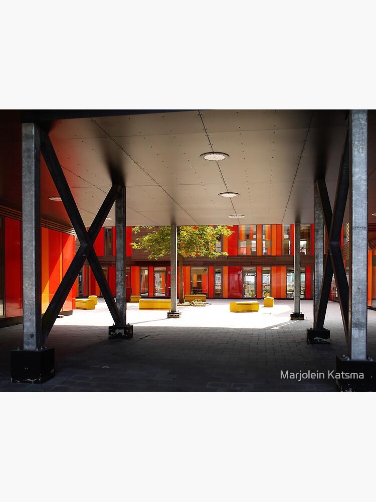 Het 4e Gymnasium - courtyard by marjoleink