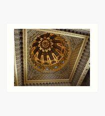 Rabat - Mohammed V Mausoleum  (click to view details !) Art Print