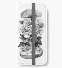 Flower Burger iPhone Wallet/Case/Skin