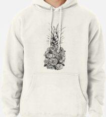Pineapple Flowers Pullover Hoodie