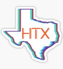 Houston Texas HTX Sticker