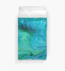 The Ocean Pours Duvet Cover