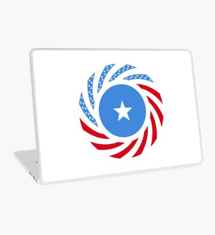 Somali American Multinational Patriot Flag Series Laptop Skin