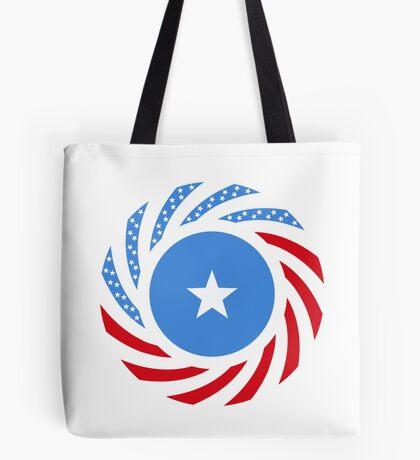 Somali American Multinational Patriot Flag Series Tote Bag