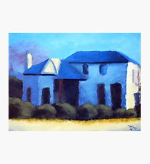 A Cottage in Mt Barker Photographic Print