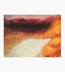 Abundance - Water in the Desert Photographic Print
