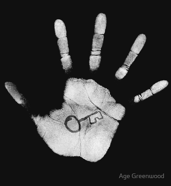 Stop the Traffik Hand by Age Greenwood