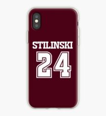Stiles Stilinski Lacrosse Jersey - Back iPhone Case