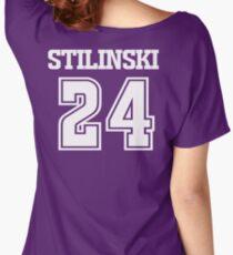 Stiles Stilinski Lacrosse Jersey - Back Women's Relaxed Fit T-Shirt