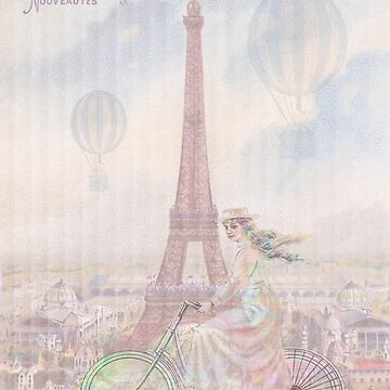 Bicycling through Paris by tillymagoo