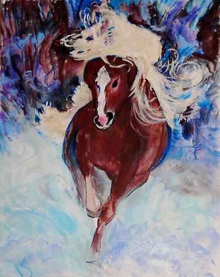 Wild Heart Running by Helena Bebirian