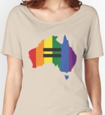 LGBT equality Australia Women's Relaxed Fit T-Shirt