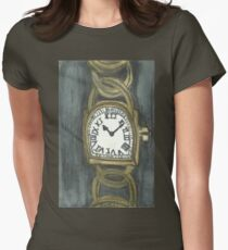 Watch Of Gold Womens Fitted T-Shirt