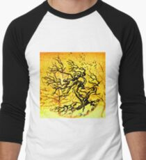Old and Ancient Tree - Yellow  T-Shirt