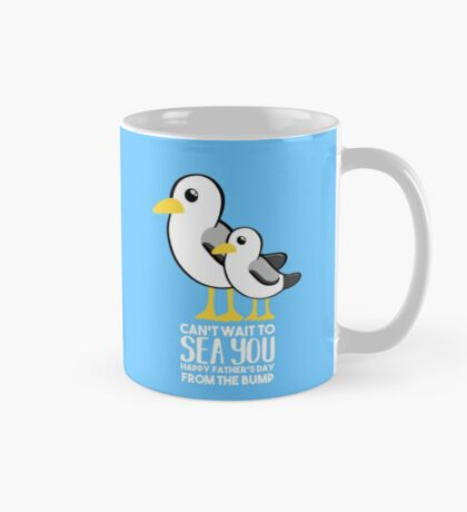 Fathers Day - SeaGull - From The Bump Card - Funny Mug