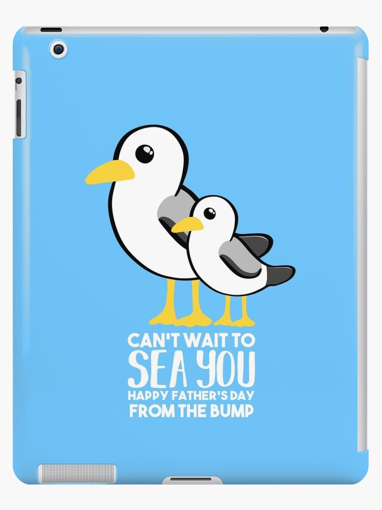 Fathers Day - SeaGull - From The Bump Card - Funny by JustTheBeginning-x (Tori)