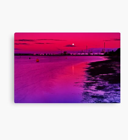 """Twilight Over Limeburners"" Canvas Print"
