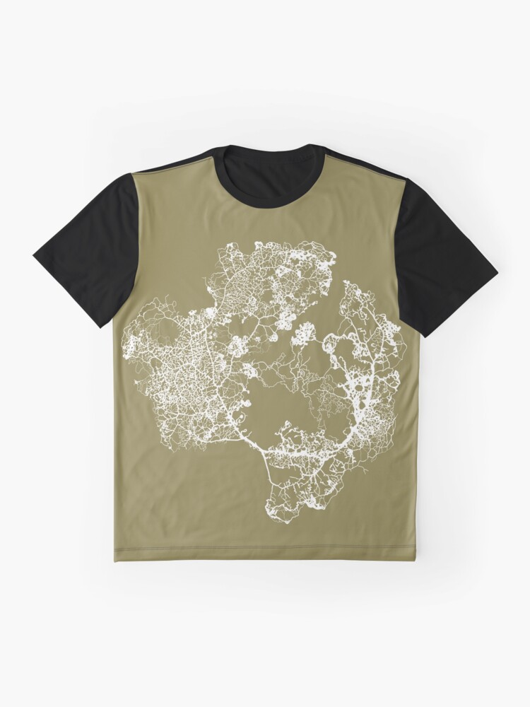 Alternate view of Physarum Polycephalum Graphic T-Shirt