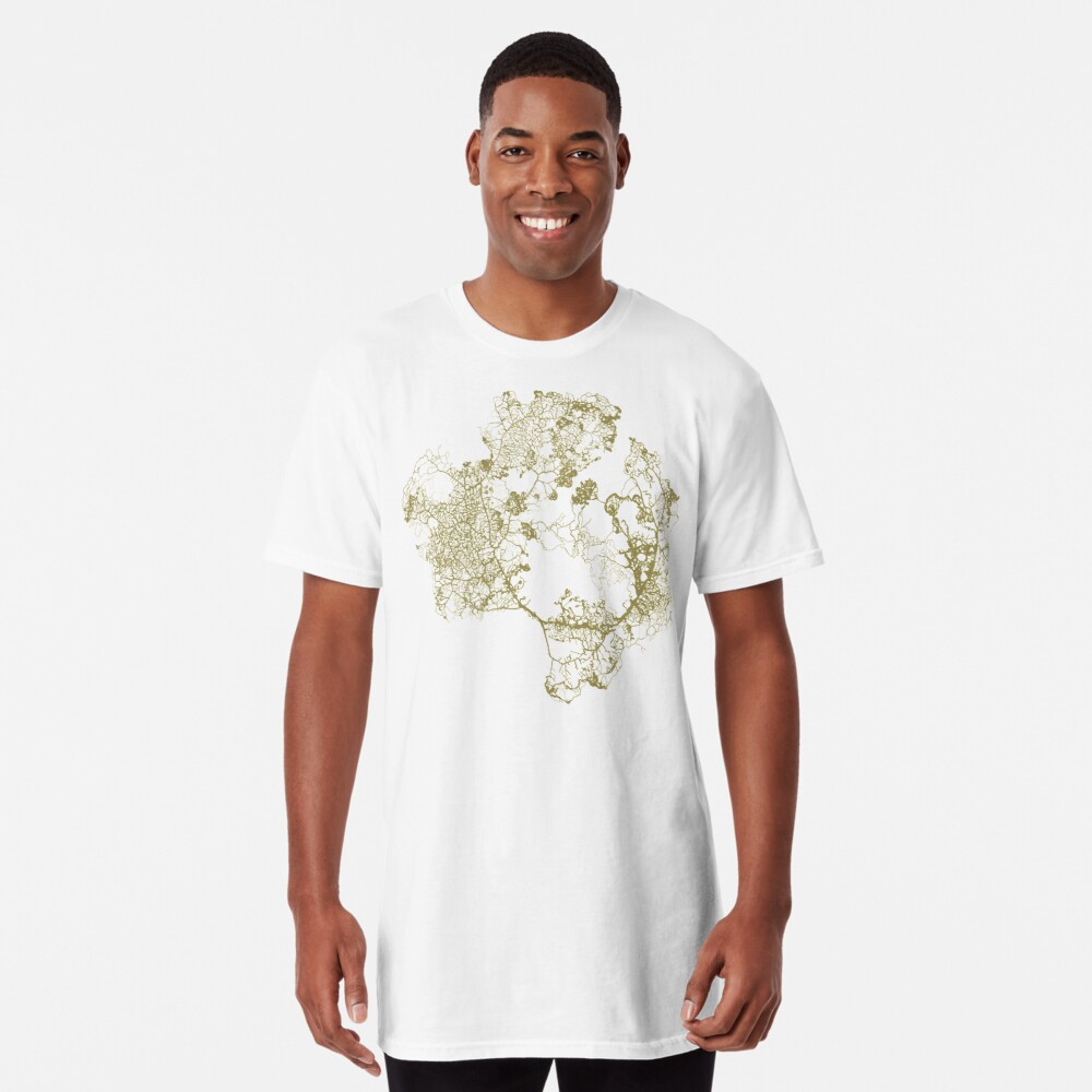 Physarum Polycephalum Long T-Shirt