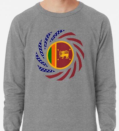 Sri Lankan American Multinational Patriot Flag Series Lightweight Sweatshirt