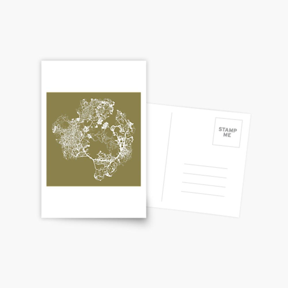 Physarum Polycephalum Postcard
