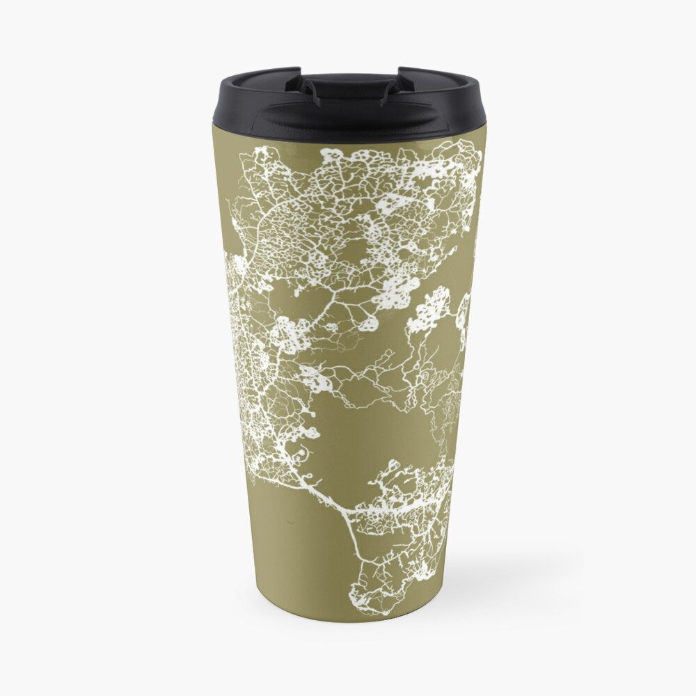 Physarum Polycephalum Travel Mug