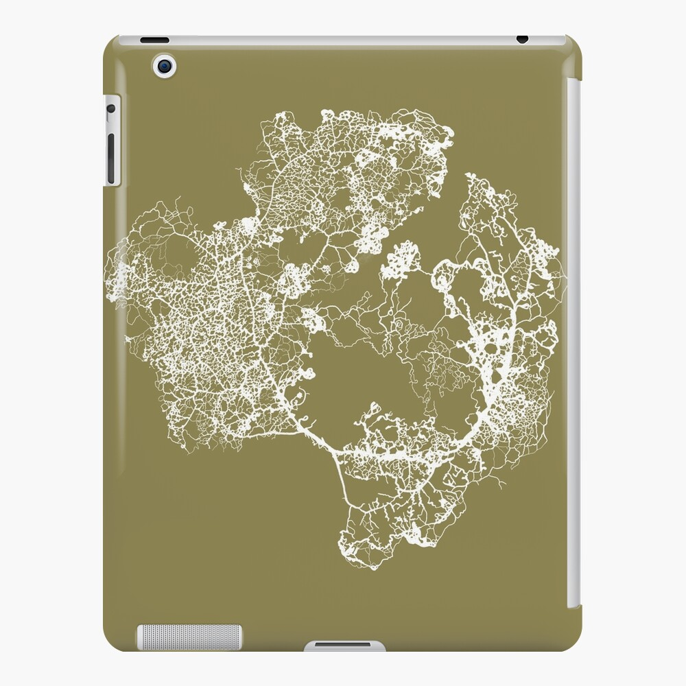 Physarum Polycephalum iPad Case & Skin