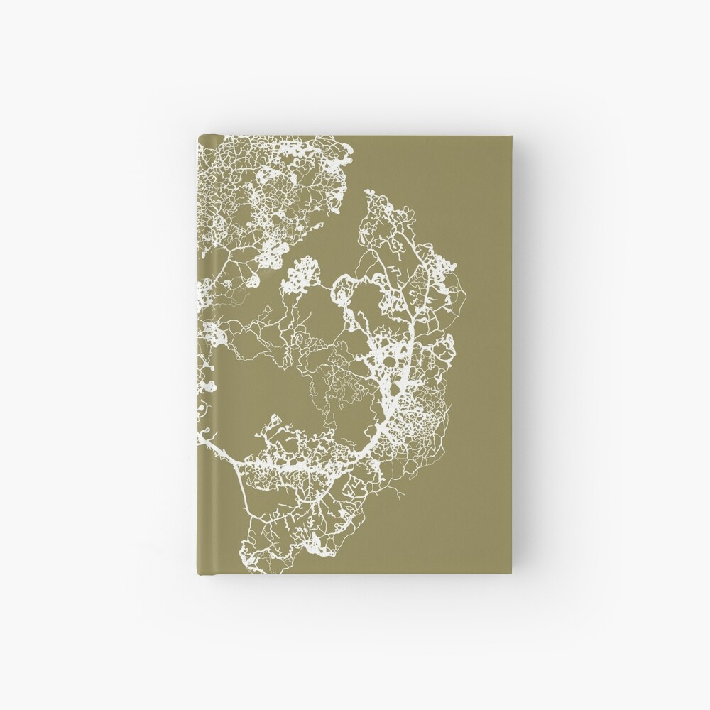 Physarum Polycephalum Hardcover Journal