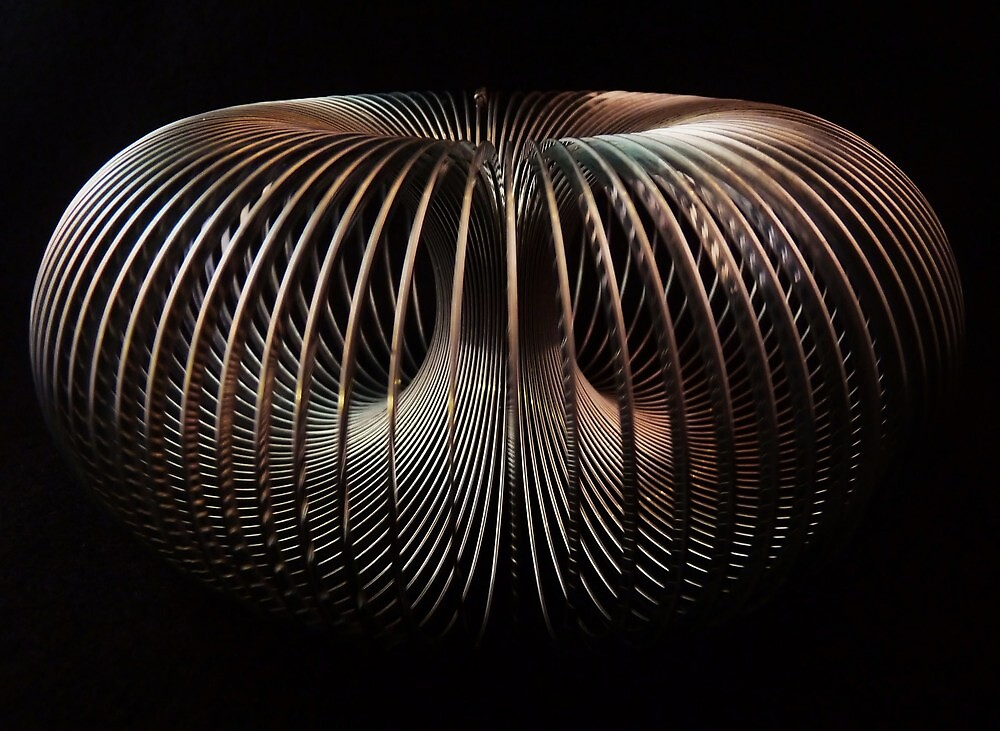 Endless Slinky by Barbara Morrison
