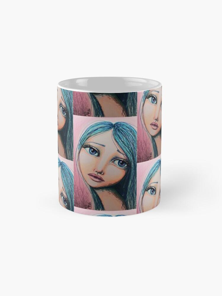 Alternate view of Blue Girl Mug