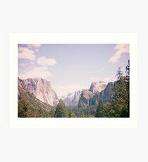Yosemite beauty Art Print