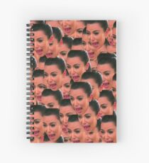 Kim Pack of Stickers Spiral Notebook