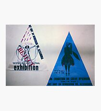 two small triad posters Photographic Print