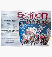 Sedition poster for Art Unit at the Sydney Trade Union Club 1983 Poster