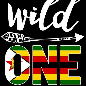 Zimbabwe Wild One Birthday Outfit 1 Zimbabwean Flag Zimbabwe Pride Harare roots heritage or other city in your country or born in America you'll love it national citizen by bulletfast