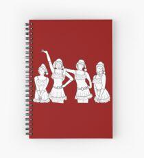 Cuaderno de espiral Jingle Bell Rock