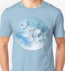 Merry Christmas From the North Pole, deer t-shirt Slim Fit T-Shirt