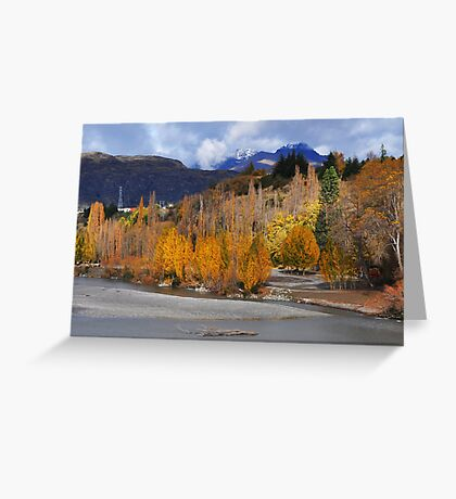 The Shotover River Greeting Card