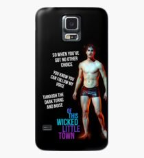 wicked little town shades of blue Case/Skin for Samsung Galaxy