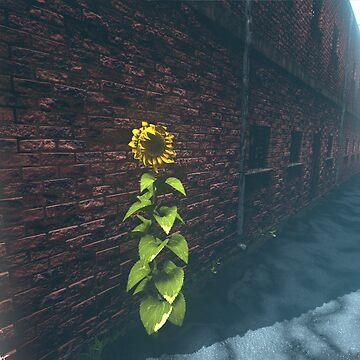 SonFlower in an alley by NekarXenos