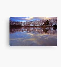 """""""Reflections at Evandale"""" Canvas Print"""