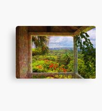 Jamaican Mountains Canvas Print