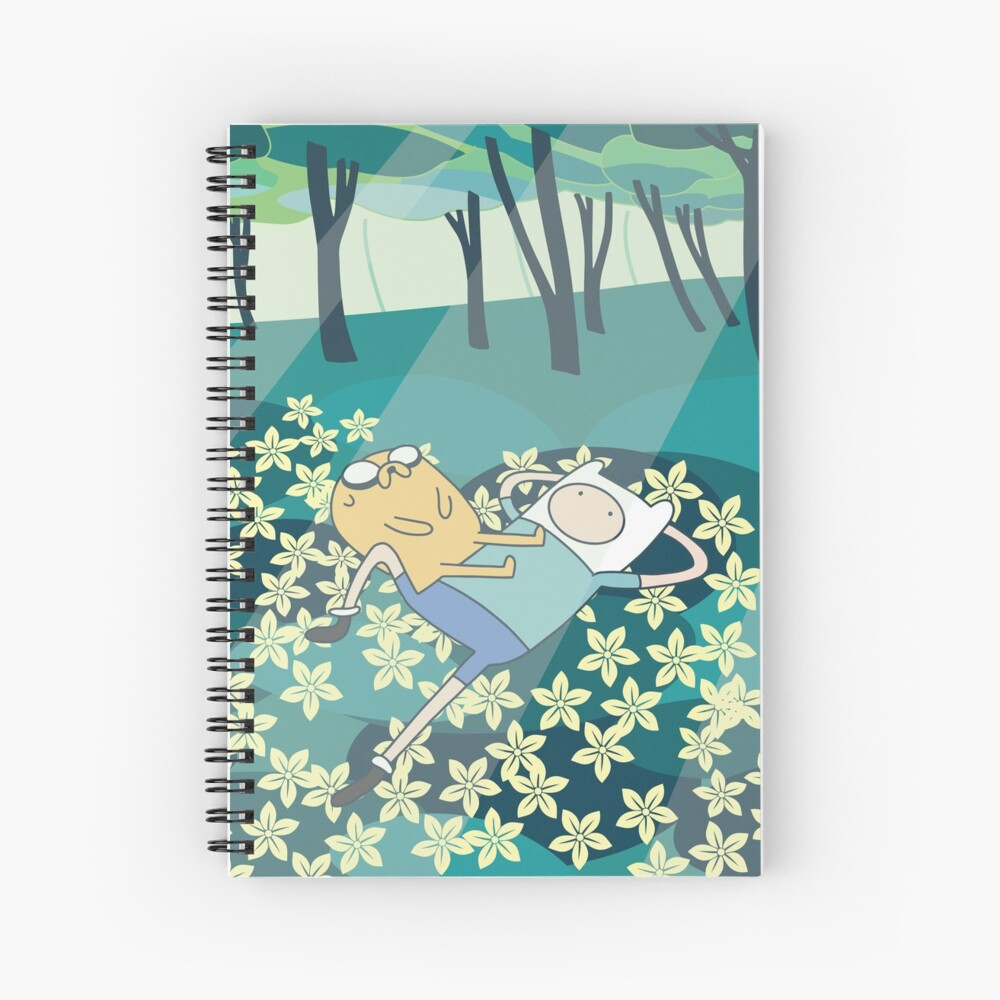 Field of Flowers (Adventure Time) Spiral Notebook