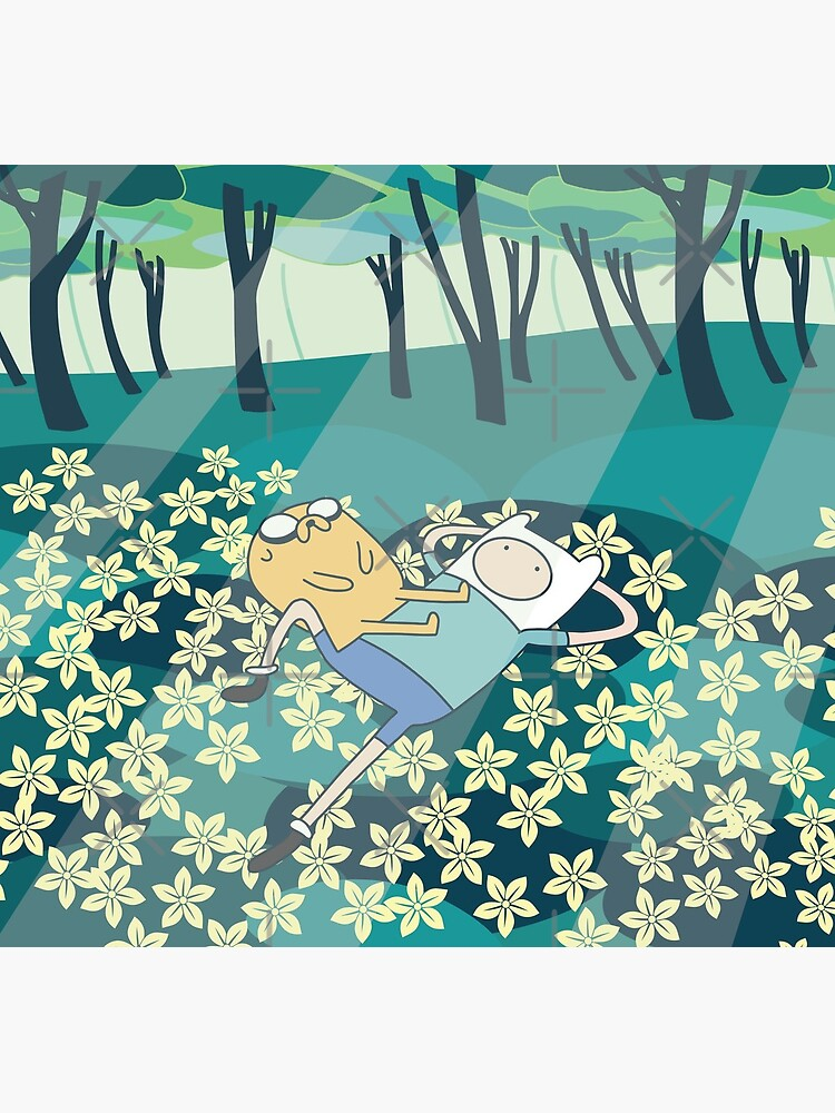 Field of Flowers (Adventure Time) by castl3t0ndesign