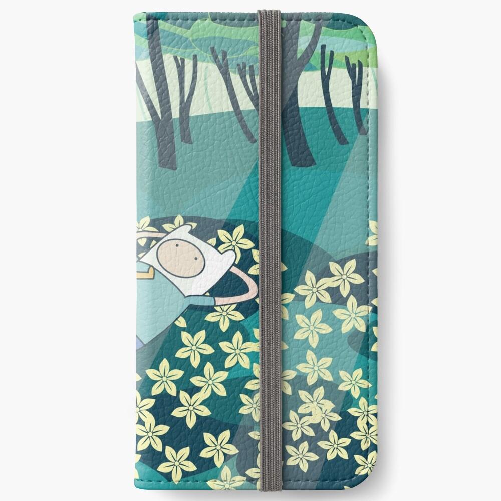Field of Flowers (Adventure Time) iPhone Wallet