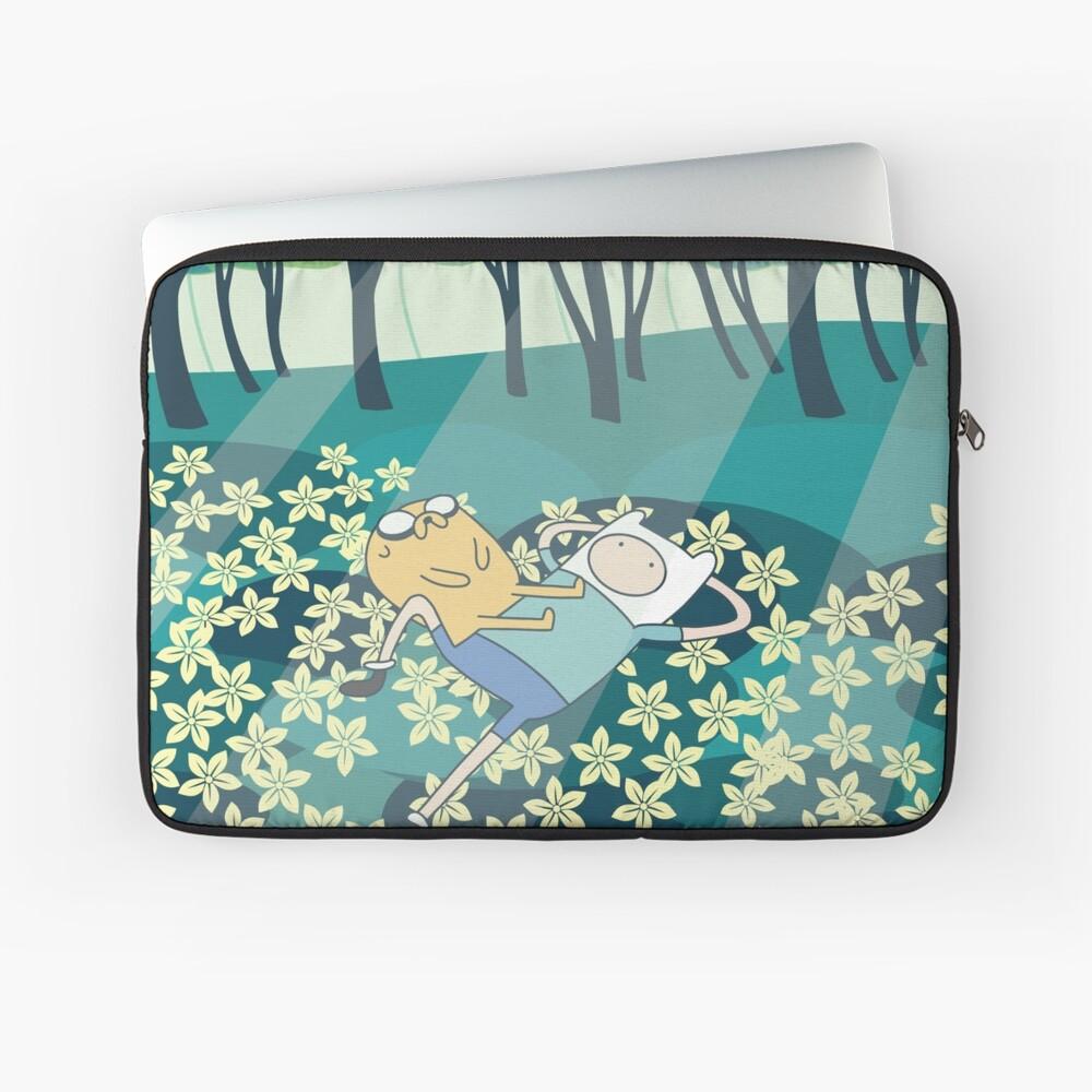 Field of Flowers (Adventure Time) Laptop Sleeve