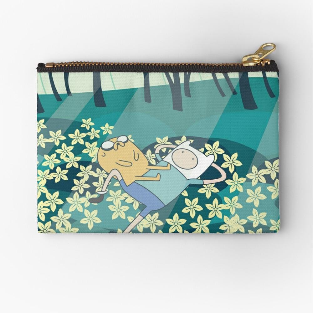 Field of Flowers (Adventure Time) Zipper Pouch