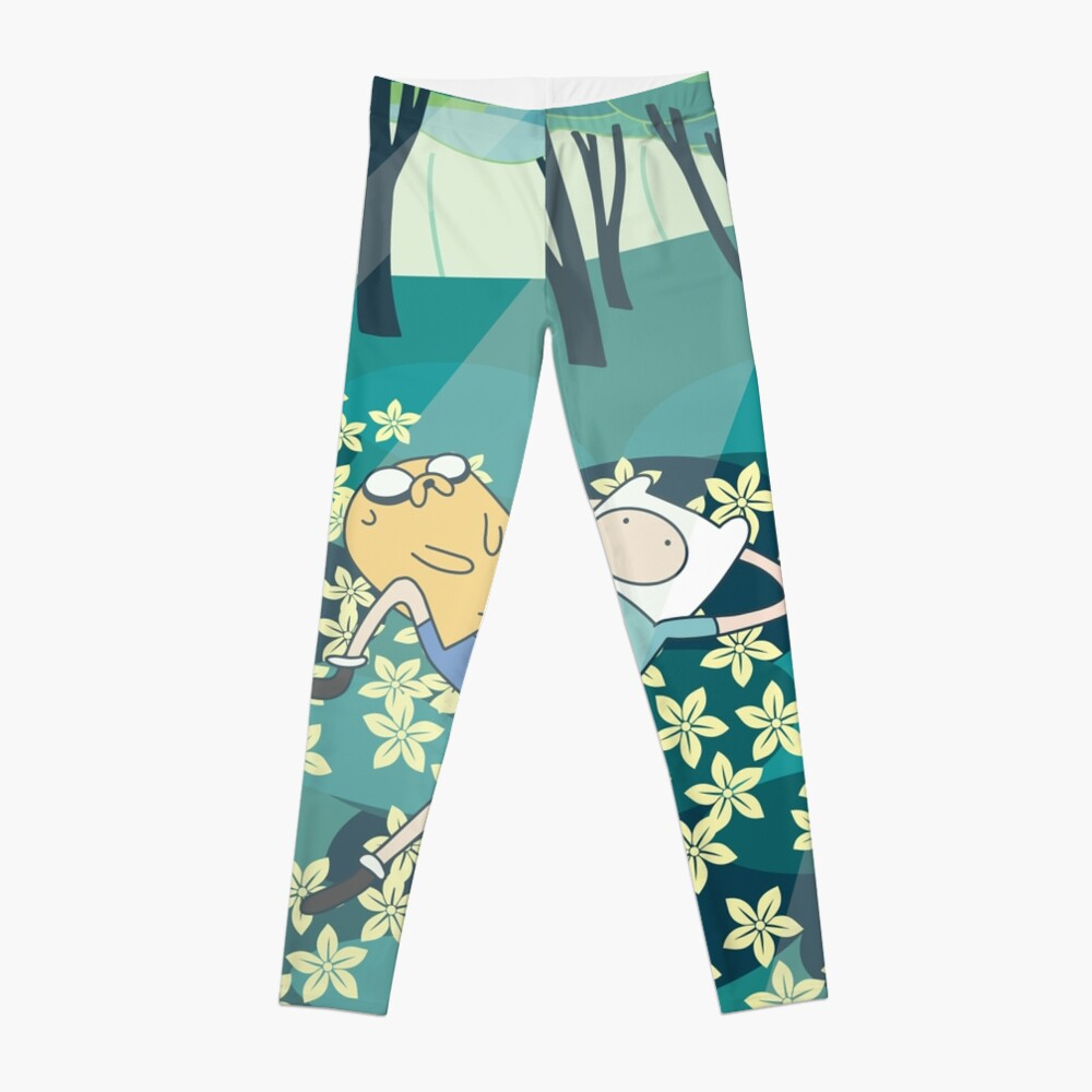 Field of Flowers (Adventure Time) Leggings