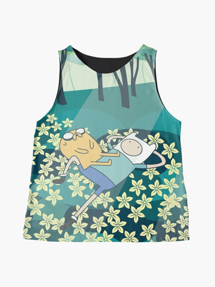 Alternate view of Field of Flowers (Adventure Time) Sleeveless Top